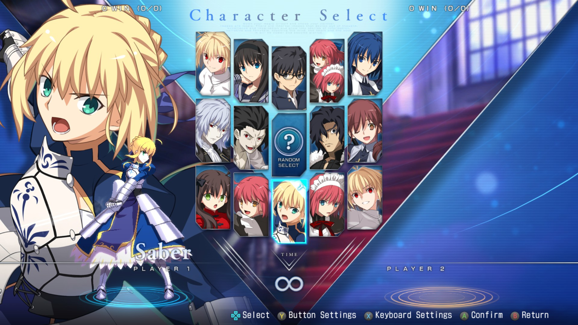 MELTY BLOOD: TYPE LUMINA - Boss Fight - Tips and Tricks - Customize - 44952E2