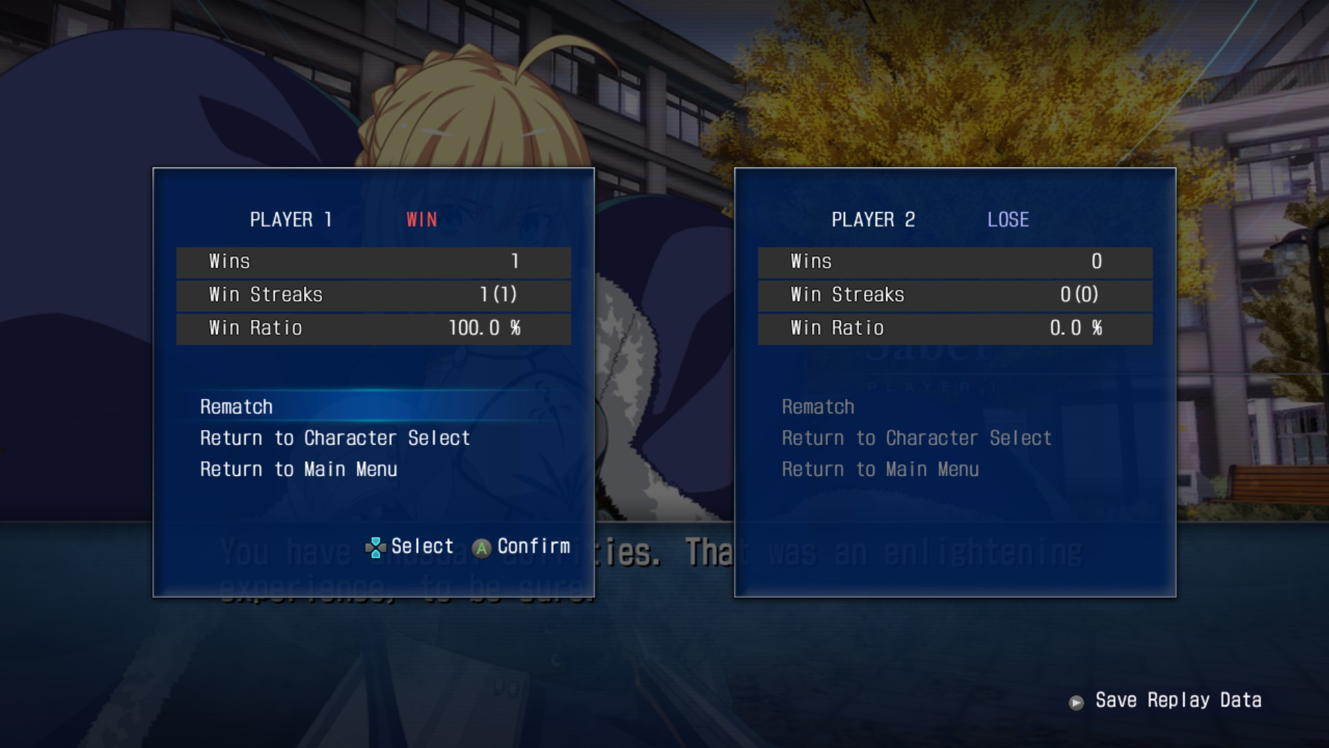 MELTY BLOOD: TYPE LUMINA - Boss Fight - Tips and Tricks - Versus - ED3079E