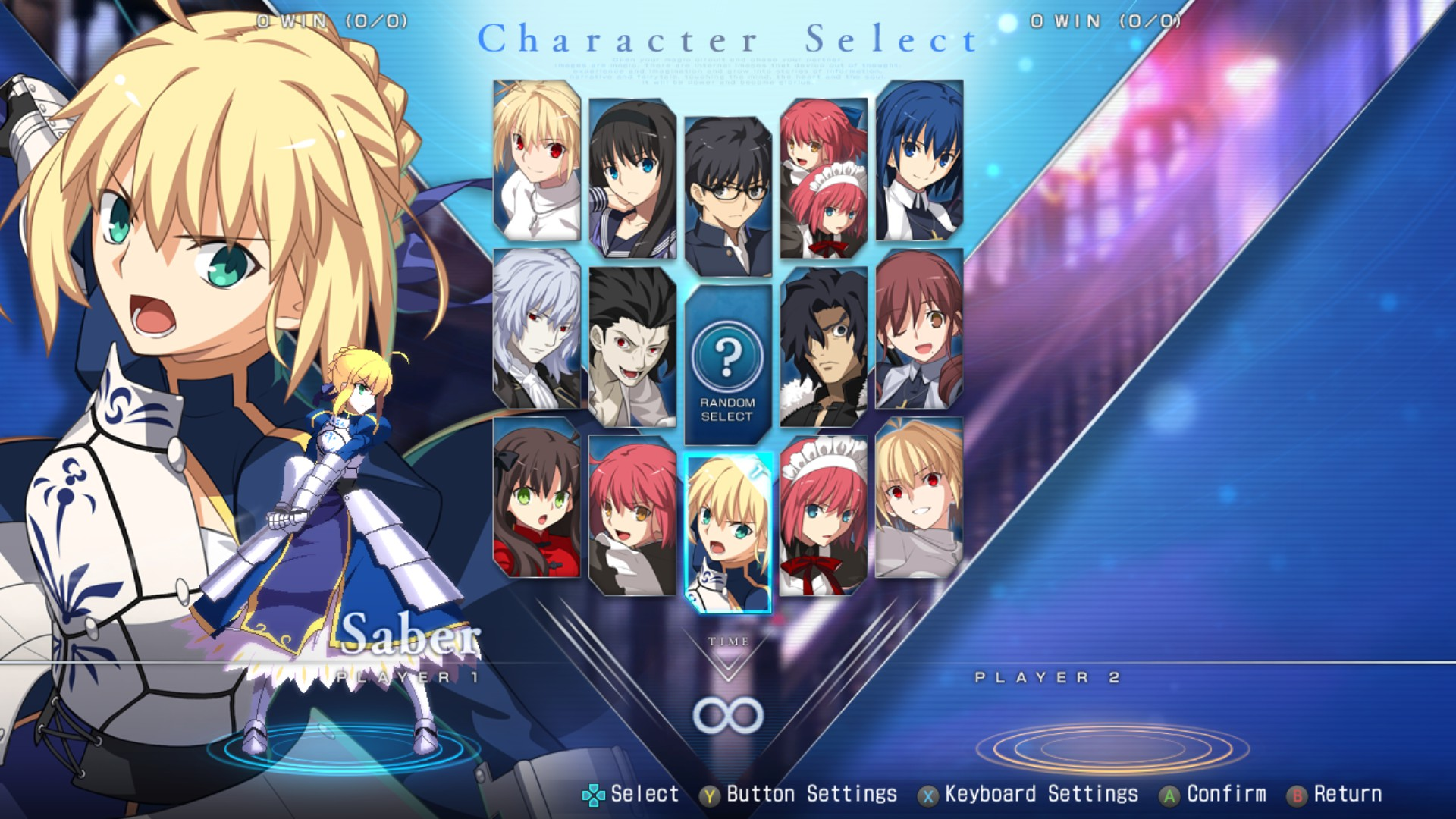 MELTY BLOOD: TYPE LUMINA - Complete All Achievements Guide - Customize - 955B39E