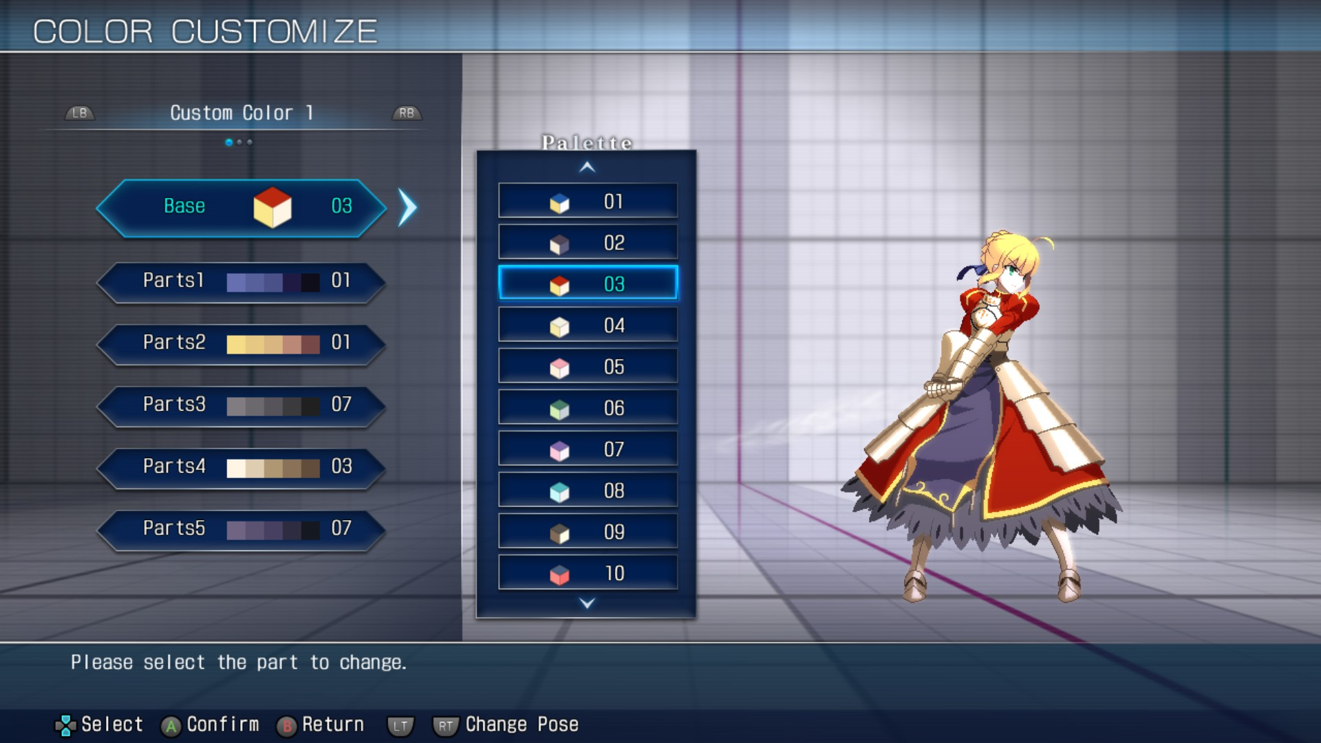 MELTY BLOOD: TYPE LUMINA - Complete All Achievements Guide - Customize - A10FB74
