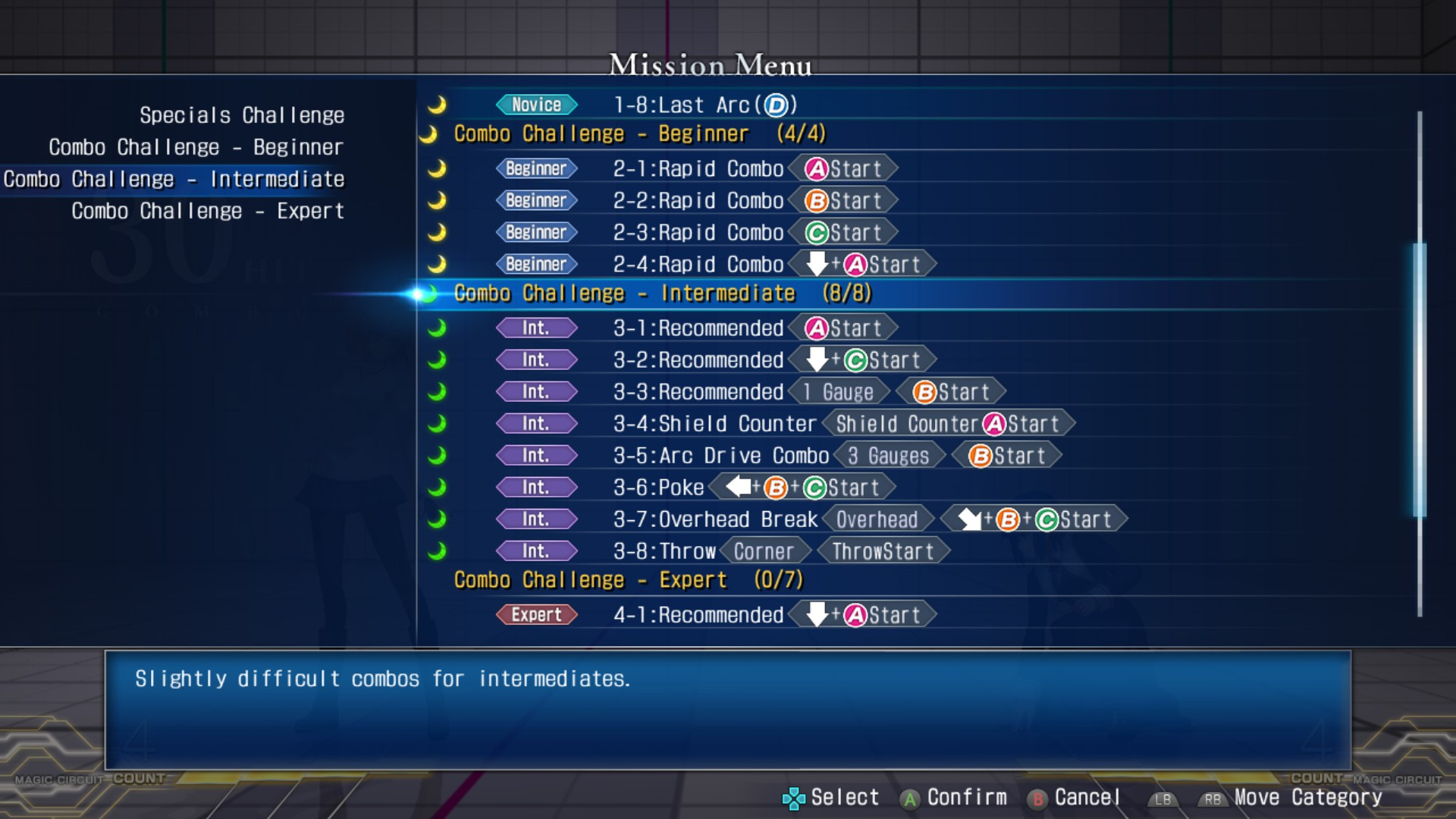 MELTY BLOOD: TYPE LUMINA - Complete All Achievements Guide - Training - 84B3192