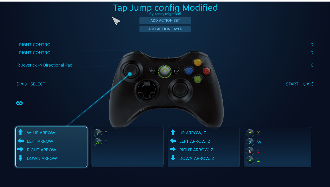 Nickelodeon All-Star Brawl - Game Config for Set Up Tap Jump and Tilt Stick - Controller Users - Installing the new config - DD83455