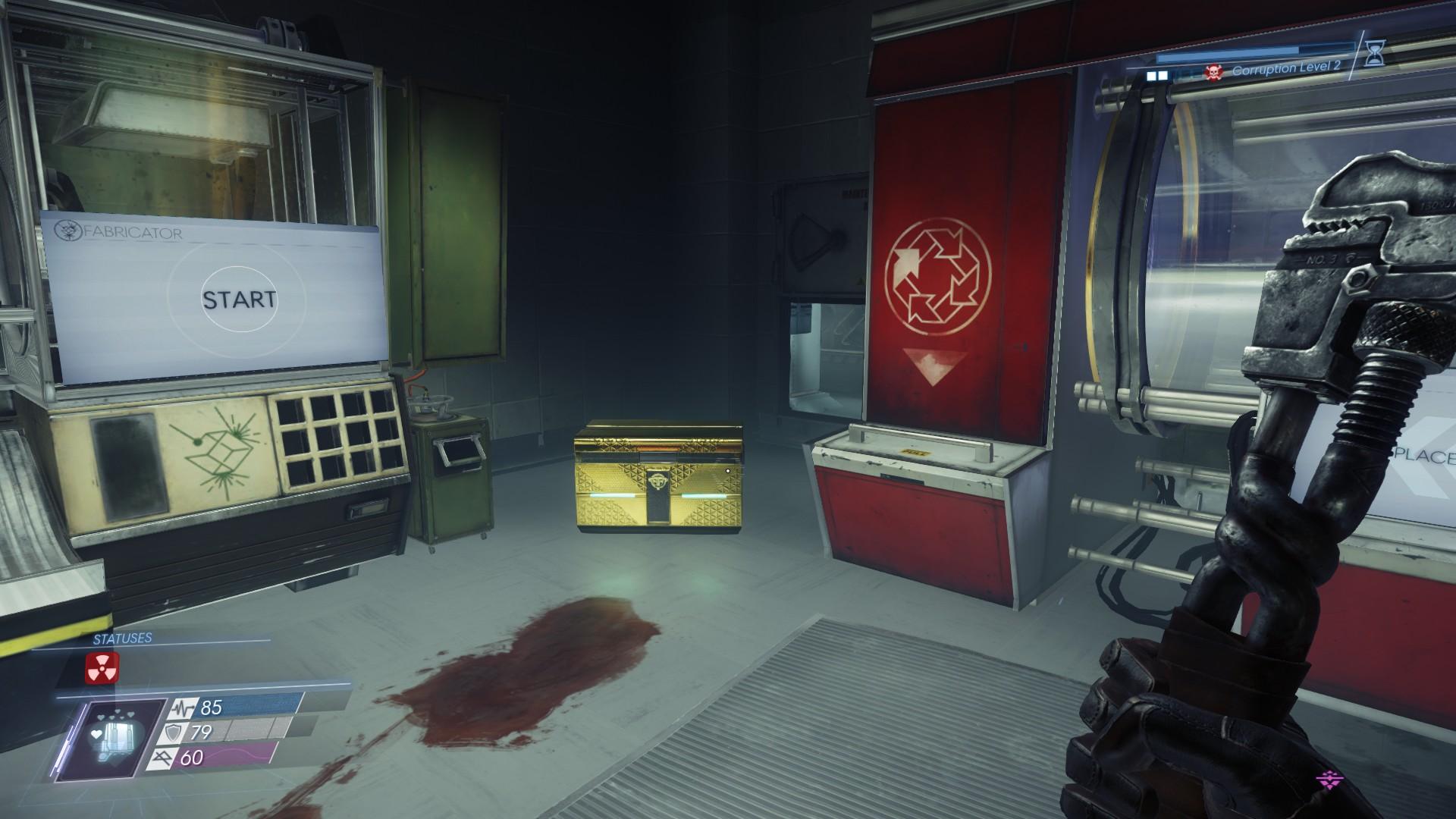 Prey - DLC Mooncrash Information + Loots + Map + Level Guide - Crew Quarters - 1EA1CA0