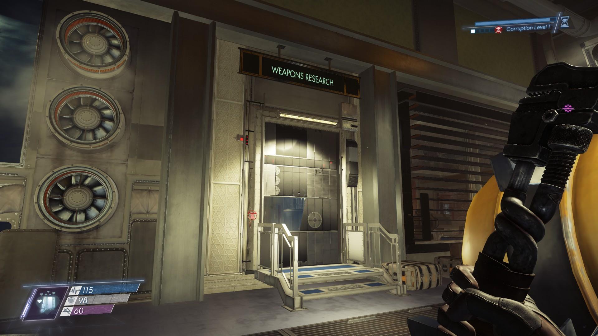Prey - DLC Mooncrash Information + Loots + Map + Level Guide - Pytheas Labs - DD98103