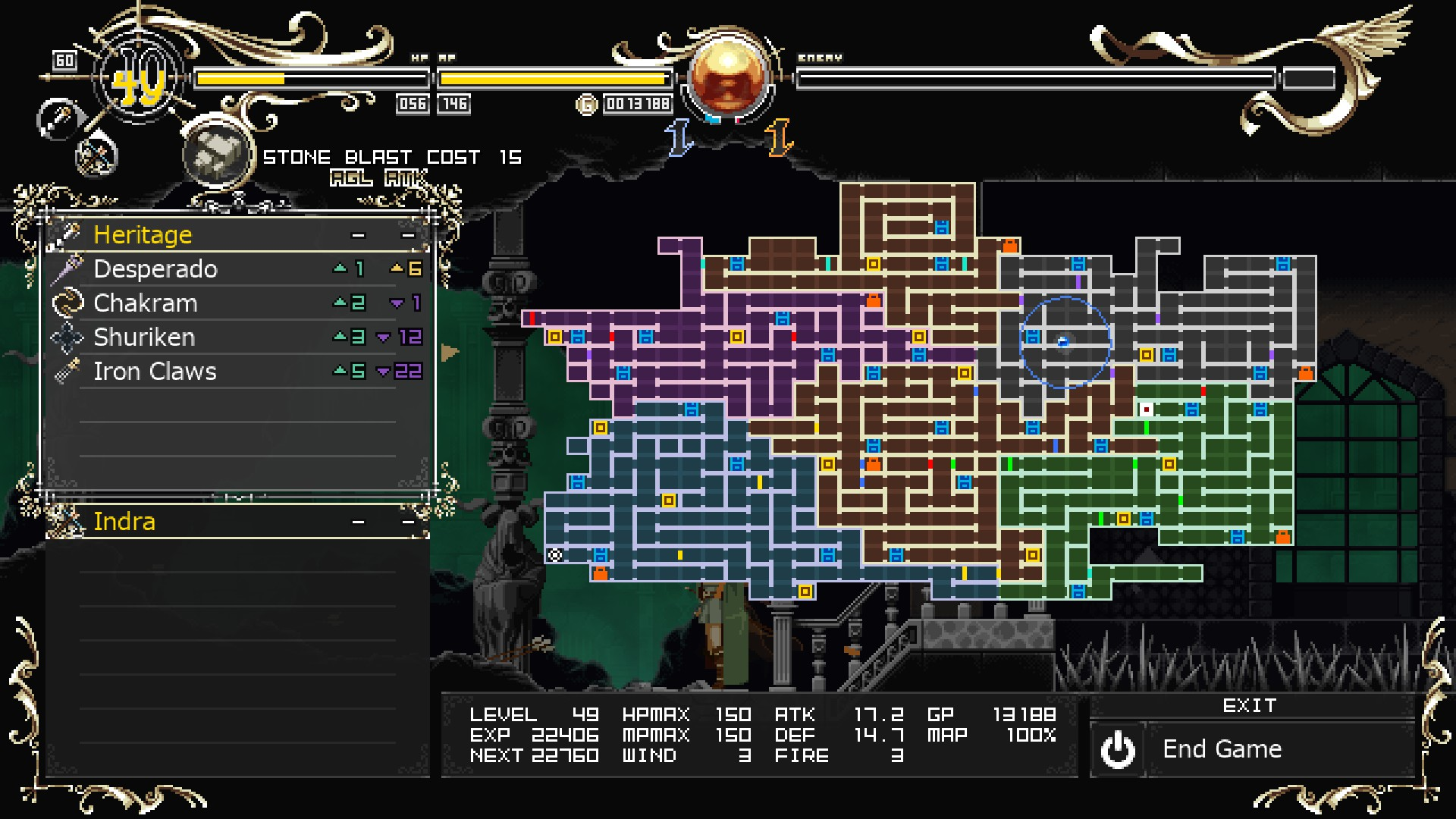 Record of Lodoss War-Deedlit in Wonder Labyrinth- - Achievements Guide & Monster Locations Tips - #56 - Giant Rat - E69C239