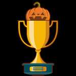 Roblox All Star Tower Defense - Badge Halloween Trophy