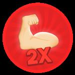 Roblox Bagman Simulator - Shop Item 2x Strength