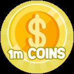 Roblox Batting Champions - Badge 1,000,000 Coins
