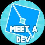 Roblox Batting Champions - Badge Met a Developer
