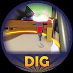 Roblox Club Roblox - Badge Dig Dig Dig