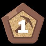 Roblox Factory Simulator - Badge Tier 1 Harvester