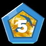 Roblox Factory Simulator - Badge Tier 5 Harvester