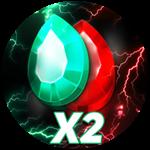 Roblox Get Big Simulator - Shop Item X2 Gems