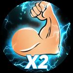 Roblox Get Big Simulator - Shop Item X2 Strength
