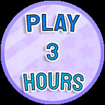 Roblox Paint Simulator - Badge Played for 3 Hours
