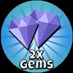 Roblox Saber Master X - Shop Item 2x Gems