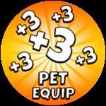 Roblox Saber Master X - Shop Item +3 Pet Equip