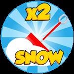 Roblox Snow Shoveling Adventure - Shop Item x2 Snow