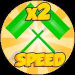 Roblox Snow Shoveling Adventure - Shop Item x2 Speed