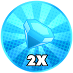 Roblox Tapping Zones - Shop Item x2 Gems