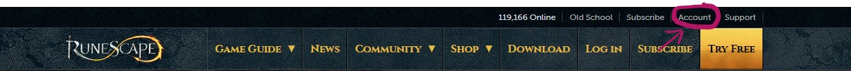 RuneScape - How to Protect Your Account from Hackers - 2. 2FA Authentication - 335CD2A