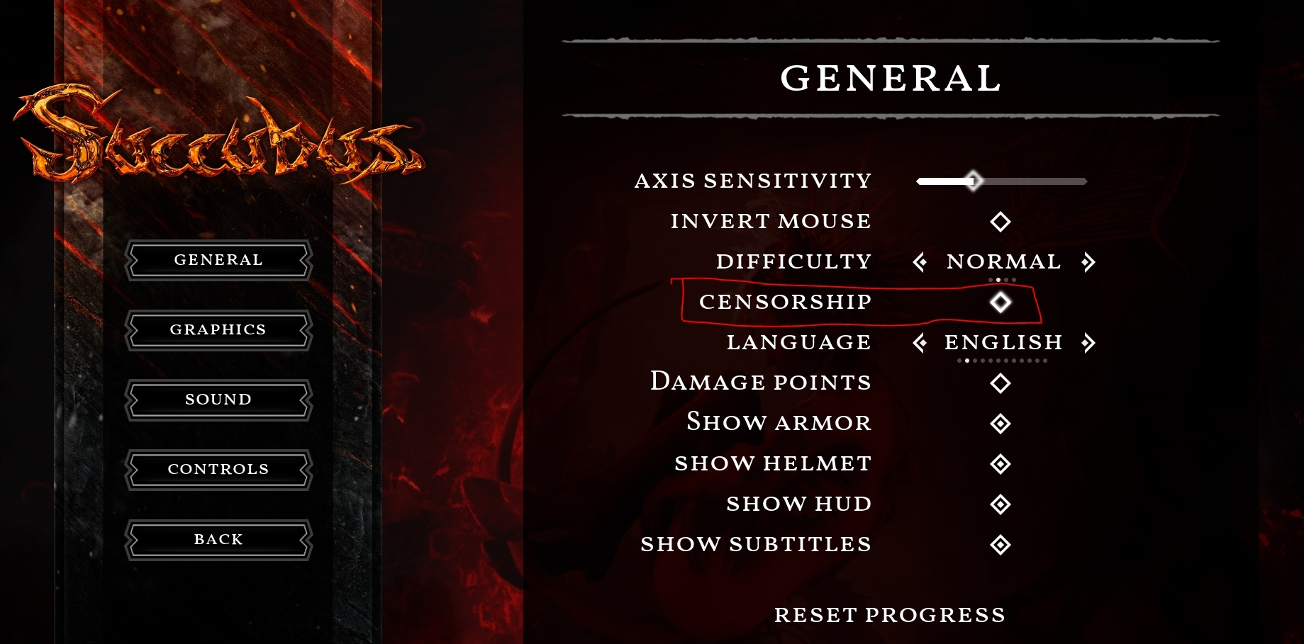 SUCCUBUS - How to Set the Game to Uncensored Guide - Applying the uncensoring ingame - 57C06BD