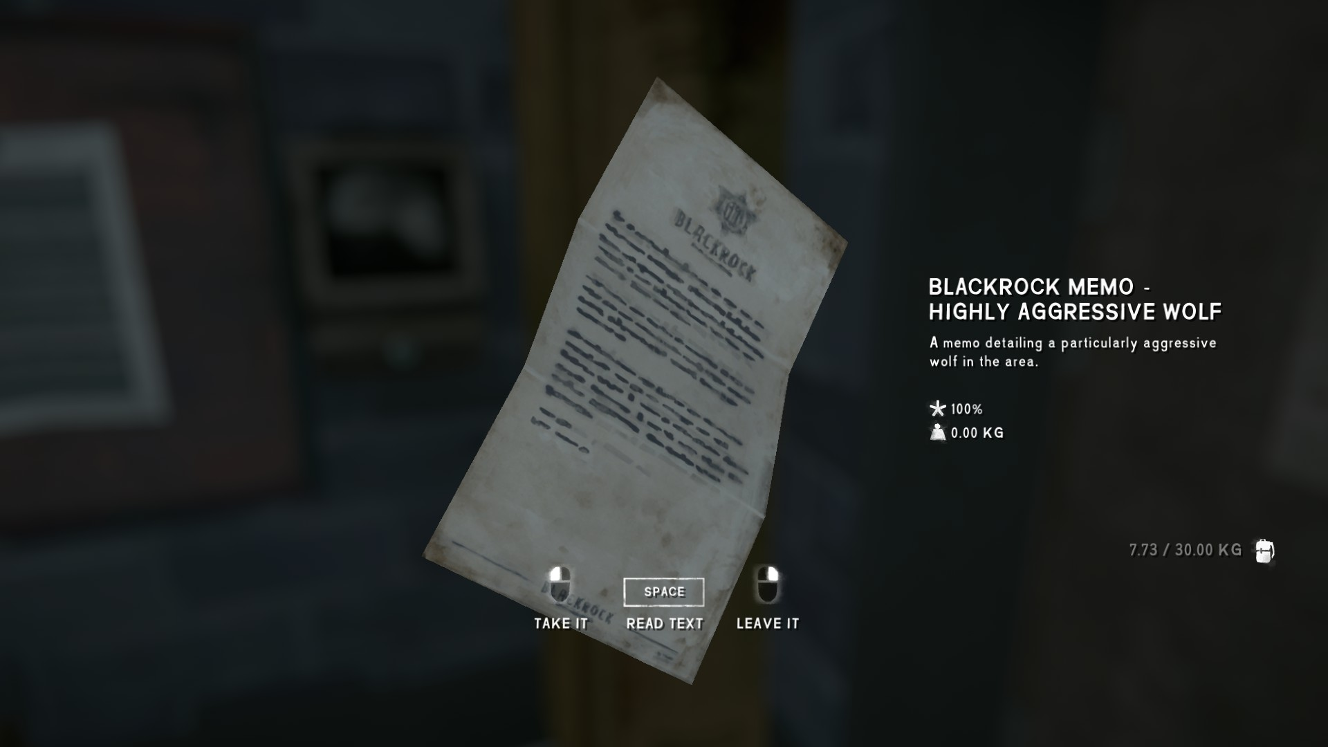 The Long Dark - All Achievements Playthrough & Collectible Items Guide - Blackrock Rumors - 9A4C65B