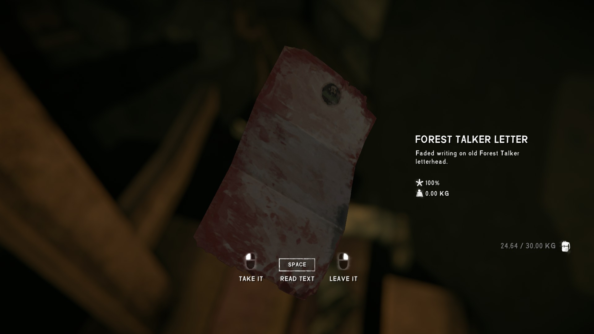 The Long Dark - All Achievements Playthrough & Collectible Items Guide - Forest Talker Cache - 42165E5