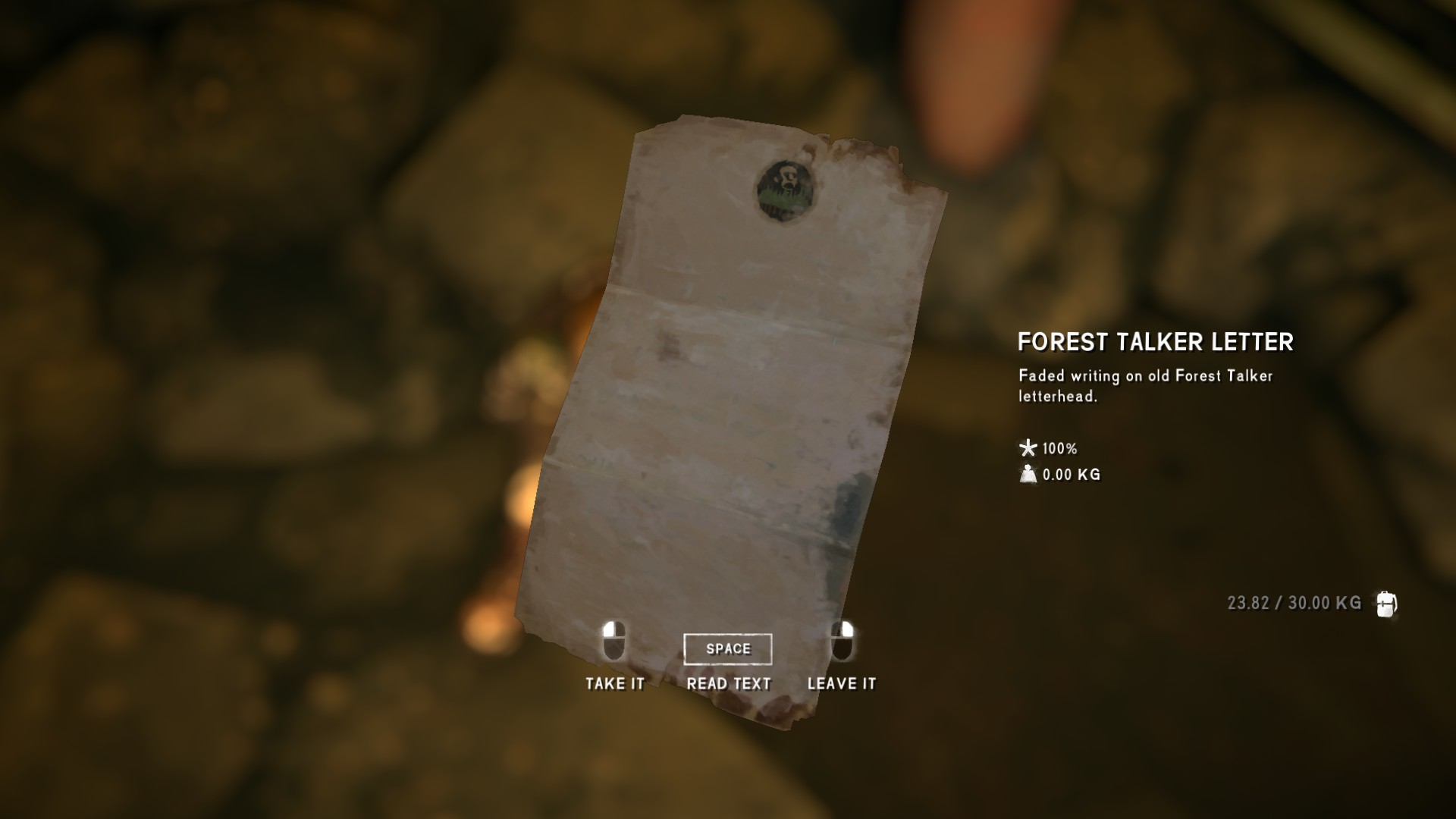 The Long Dark - All Achievements Playthrough & Collectible Items Guide - Forest Talker Cache - E4952A5