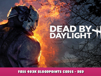 Dead by Daylight – Free 403K Bloodpoints Codes – DBD 1 - steamlists.com