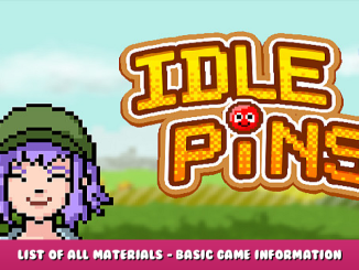 Idle Pins – List of All Materials – Basic Game Information – Seasons Guide 1 - steamlists.com