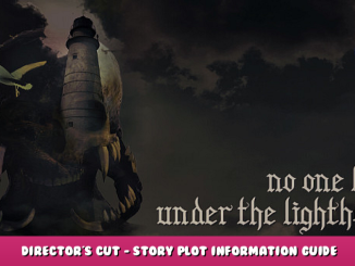No one lives under the lighthouse – Director's Cut – Story Plot Information Guide 1 - steamlists.com