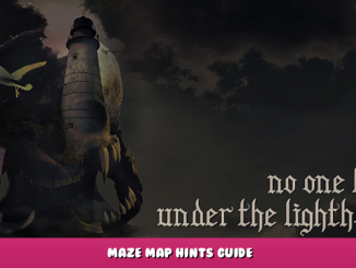 No one lives under the lighthouse – Maze Map Hints Guide 1 - steamlists.com