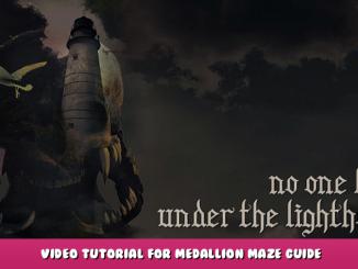No one lives under the lighthouse – Video Tutorial for Medallion Maze Guide 1 - steamlists.com