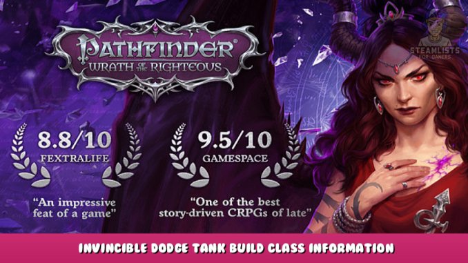 Pathfinder: Wrath of the Righteous – Invincible Dodge Tank Build Class Information 1 - steamlists.com