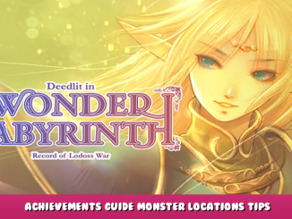 Record of Lodoss War-Deedlit in Wonder Labyrinth- – Achievements Guide & Monster Locations Tips 1 - steamlists.com