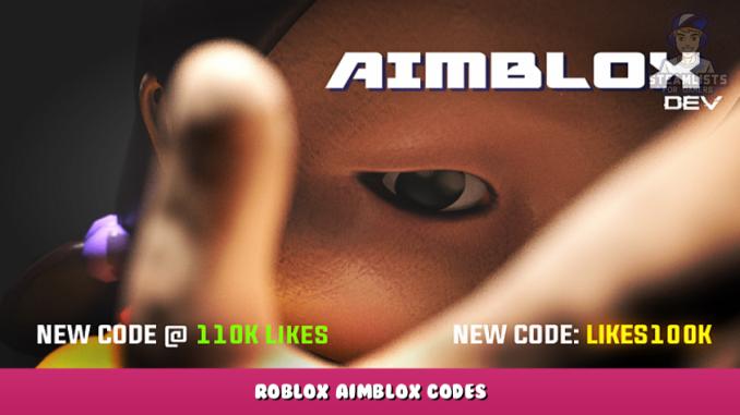 Roblox – Aimblox Codes – Free Coins (October 2021) 6 - steamlists.com