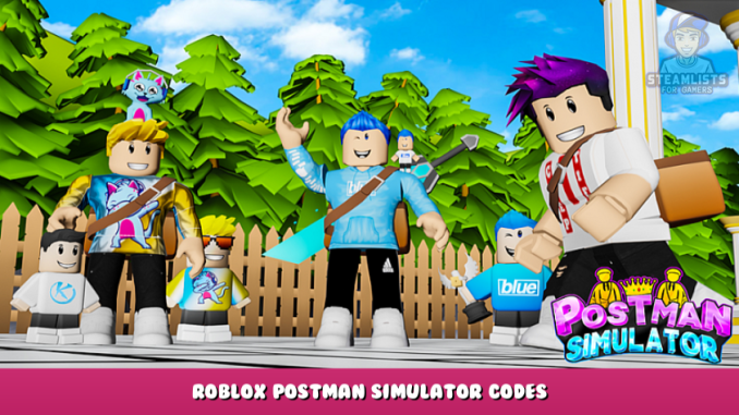 Roblox – Postman Simulator Codes (October 2021) 1 - steamlists.com
