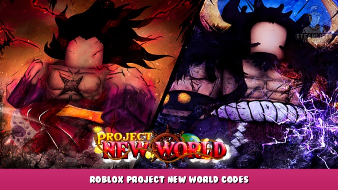 Roblox – Project New World Codes – Free Stats Reset, Spins and XP (October 2021) 20 - steamlists.com