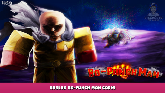 Roblox – Ro-Punch Man Codes – Free Yen and Stat Points (October 2021) 8 - steamlists.com