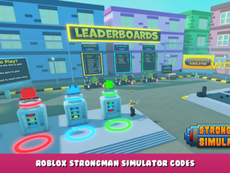 Roblox – Strongman Simulator Codes – Free Pets and Boosts (October 2021) 44 - steamlists.com