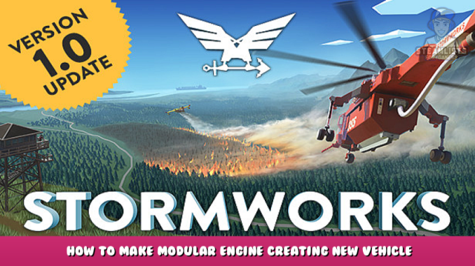 Stormworks: Build and Rescue – How to Make Modular Engine + Creating New Vehicle 1 - steamlists.com
