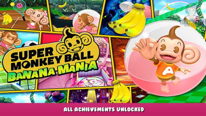 Super Monkey Ball Banana Mania – All Achievements Unlocked 1 - steamlists.com