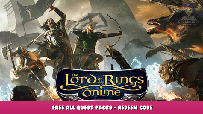 The Lord of the Rings Online™ – FREE All Quest Packs – Redeem Code 2 - steamlists.com