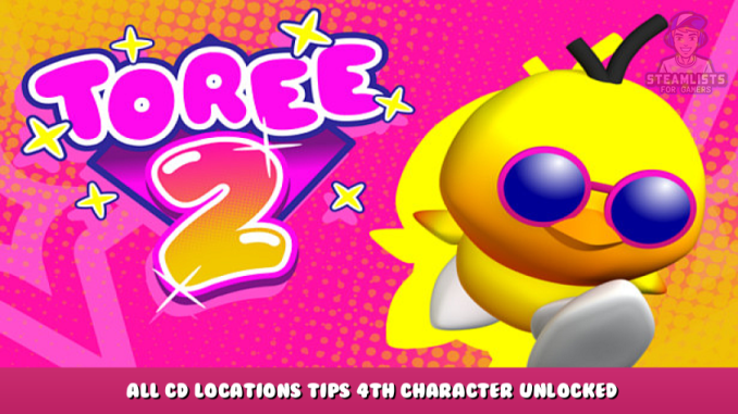 Toree 2 – All CD Locations Tips + 4th Character Unlocked Guide 2 - steamlists.com